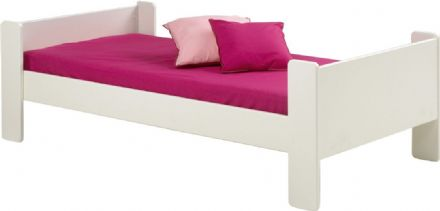 White Steens for Kids Single Bed